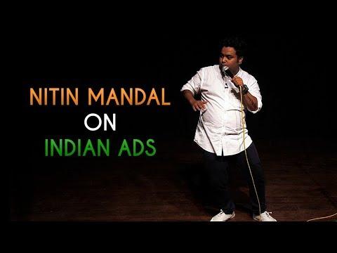 Indian Majedar Ads by Nitin Mandal | Comedy Munch