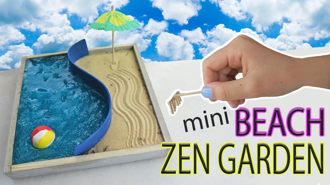 Mini Beach Zen Garden Diy Water Slime And Sand Fun Kids Crafts