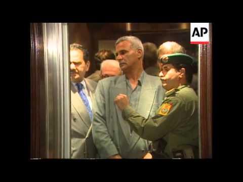 Jordan - Iraqi Deputy PM Aziz departs for US
