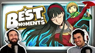 【 PERSONA 4 GOLDEN  】 Opening + Highlights / Live Stream Funny Moments   Part 1 - 3