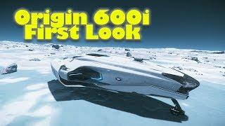 Star Citizen 3.2 | Origin 600i First Look & Review