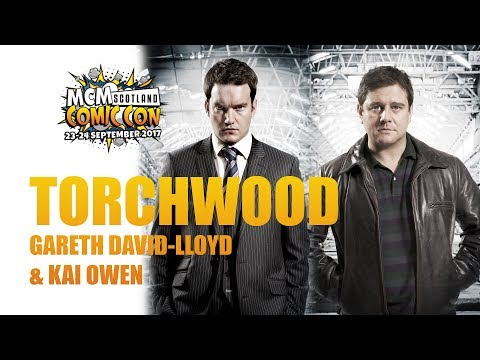 Torchwoods Kai Owen & Gareth DavidLloyd LIVE @MCM Scotland
