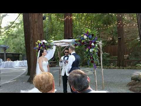 Fun and Funny Wedding Ceremony - Funniest Wedding Officiant Ever!