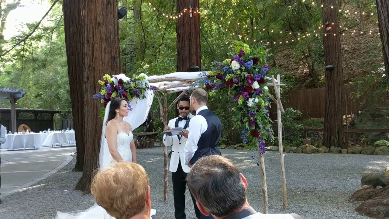 Fun And Funny Wedding Ceremony Funniest Officiant Ever