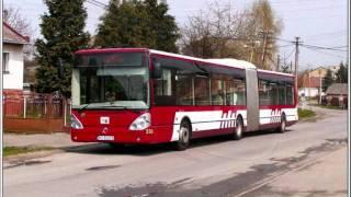 Presov trafic part 2. autobuses / Prešov MHD časť 2. autobusy 2011