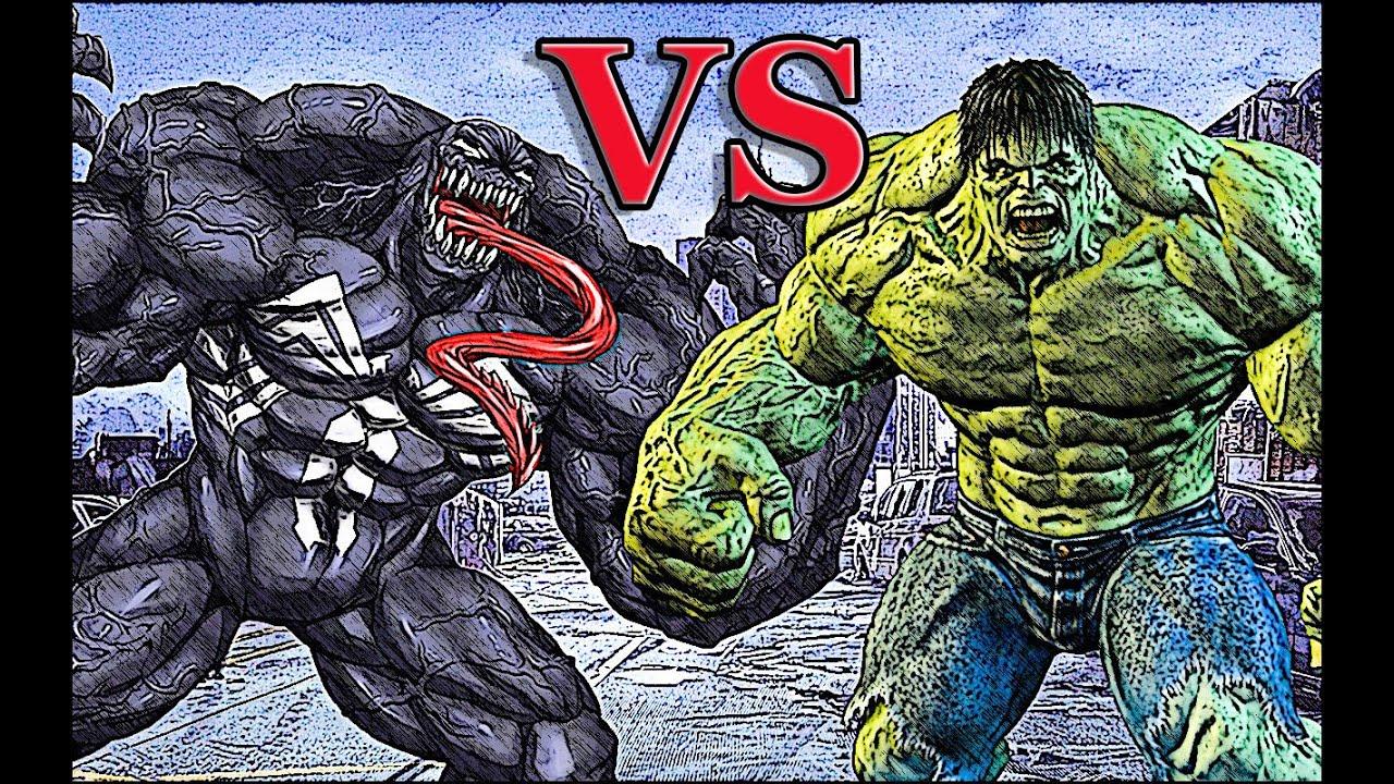 hulk vs venom epic battle youtube