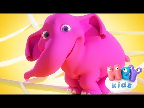 Egy Elefánt gyerekdal 🐘 HeyKids - Gyerekdalok és mondókák thumbnail