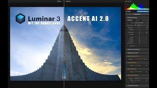 Luminar 3.1 Review. Wie gut ist der Accent AI2.0 Filter? 10€ Rabattcode im Video!