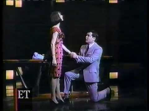 """Snippet of Sarah Jessica Parker and Matthew Broderick in """"How to Succeed in Business . . ."""""""