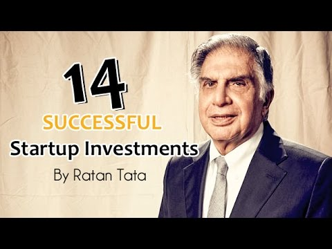 14 Successful Startup Investments By Ratan Tata