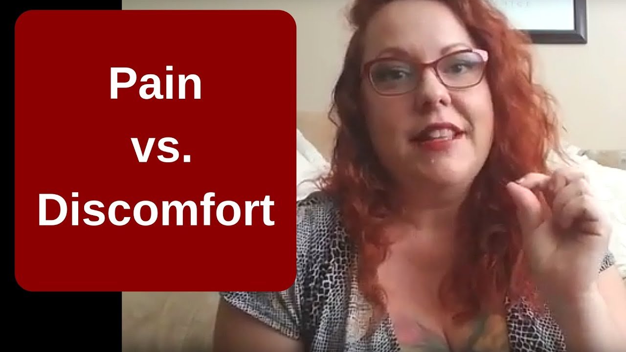 Pain vs. Discomfort During Anal Sex - YouTube
