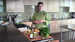 Chef Wendy Bennett at the Wine Country Cooking Studio
