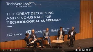 The Great Decoupling and Sino-US Race for Technological Supremacy