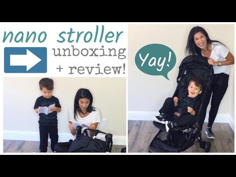 Mountain Buggy Nano Travel Stroller: Unboxing + Review + Fold!