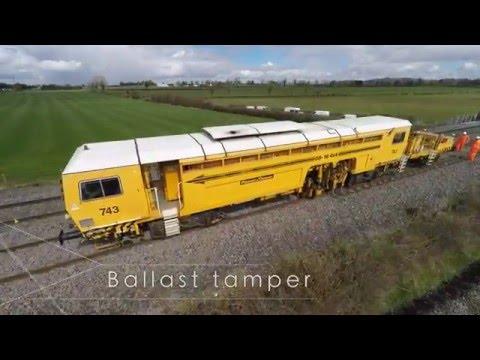 Iarnród Éireann Line improvement works 2016