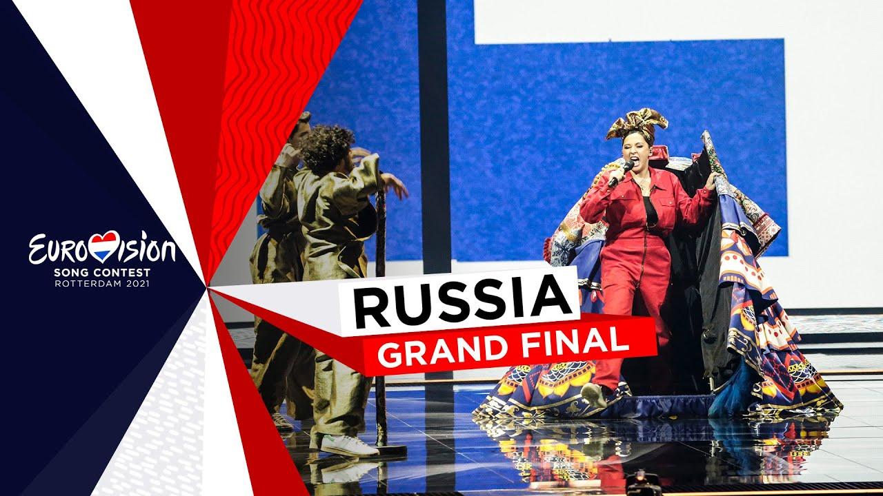 Manizha  Russian Woman  LIVE  Russia   Grand Final  Eurovision 2021