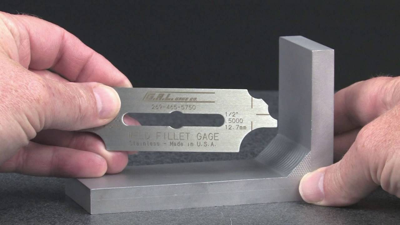 The Fillet Weld Gauge By Gal Gage Company