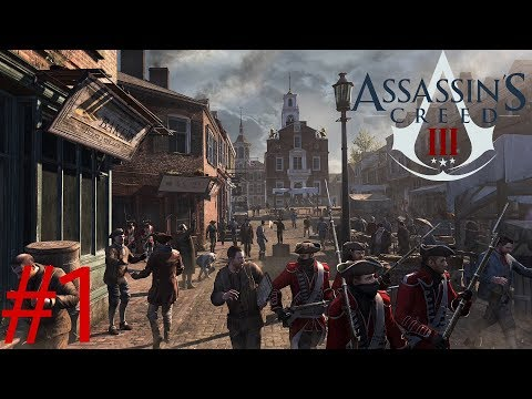 Assassin's Creed 3 Gameplay Part 1| AMERICAN COLONIES!!! (Road To Assassin's Creed Origins)