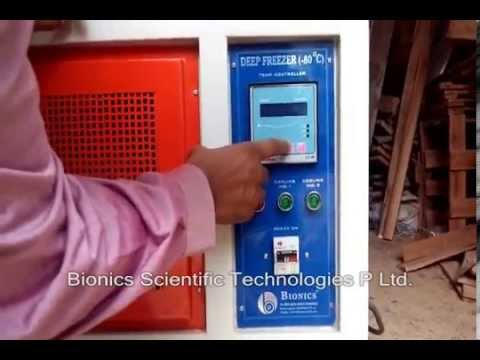 Laboratory Deep Freezer A Biotechnology Equipment