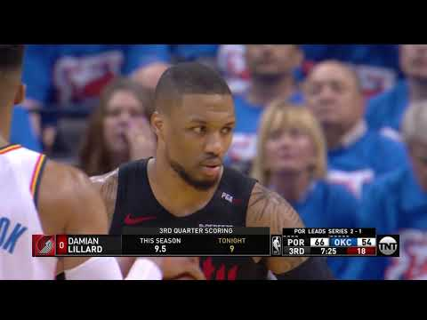 bd8f5105a75 Paul George All Game Actions 04 21 2019 Portland Trail Blazers vs Oklahoma  City Thunder Highlights