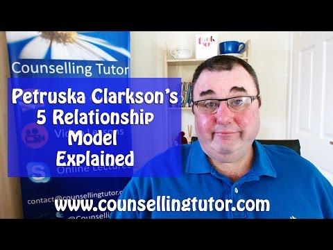 Petruska Clarkson - 5 relationship model explained !