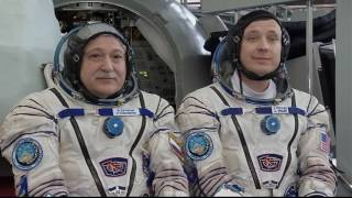 Expedition 50 - 51 Crew Undergoes Final Training Outside Moscow