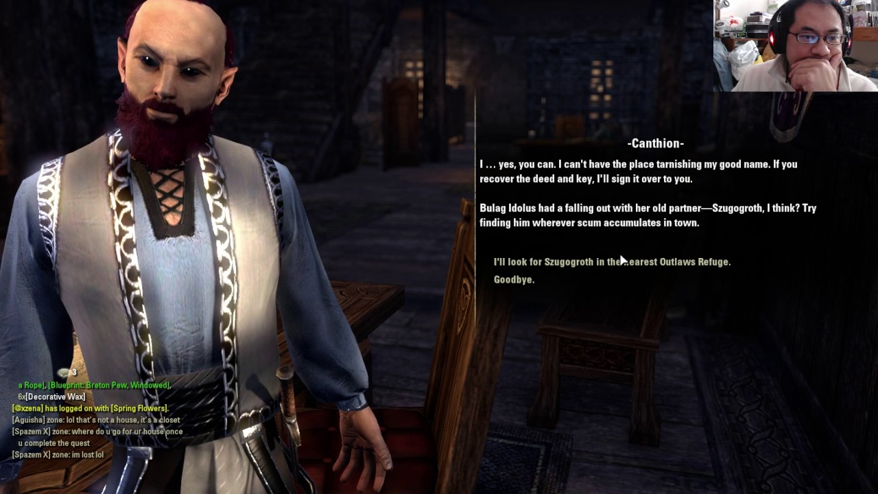 Housing In Eso(free House): A Friend In Need