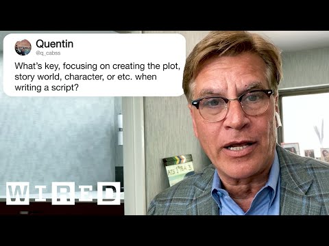 Aaron Sorkin Answers Screenwriting Questions From Twitter   Tech Support   WIRED