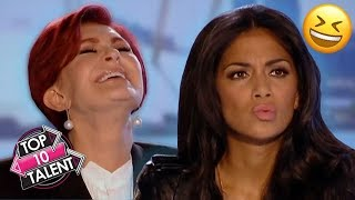 TOP 10 MOST HILARIOUS Singing Auditions Ever On X Factor And Idol!