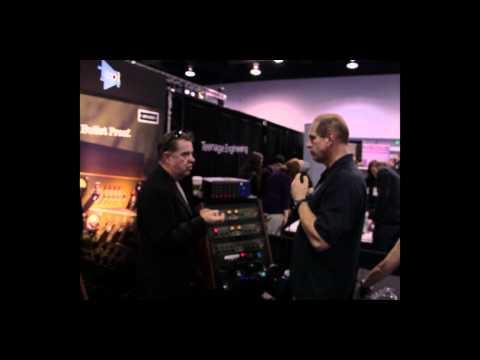 JDK Audio R20 Mic Pre - R22 Compressor and R24 EQ - NAMM 2012 - Musicianews