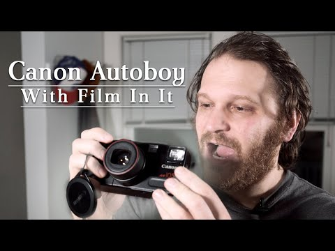 Canon Autoboy Zoom 105 With Film In It! | Thrift Score!