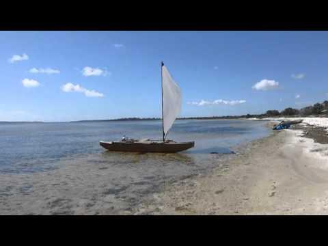 Roller Reefing the Ulua Sail