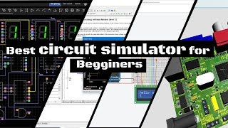 Best circuit simulator for beginners.  Schematic & PCB design. screenshot 4