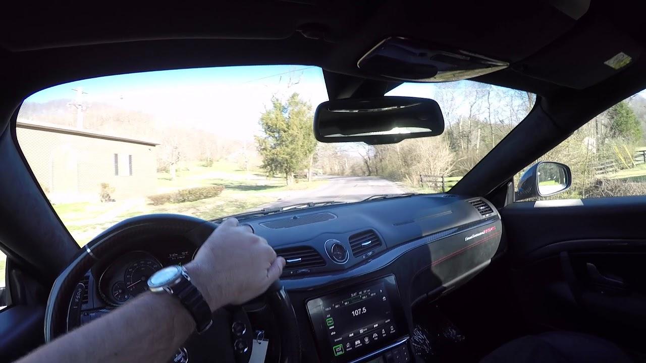 Motorcars Of Nashville >> 2018 Maserati GranTurismo MC POV Test Drive - YouTube