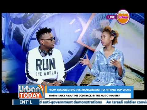 #UrbanToday: Toniks talks about his comeback in the music Industry