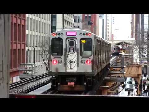 Take a ride-Chicago subway orange line. Quincy to Midway airport.