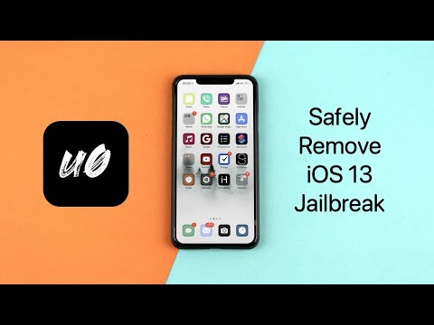 How To Remove iOS 13 Jailbreak Using unc0ver - No Computer Required (Without Data Loss Or Restore) from YouTube · Duration:  2 minutes 55 seconds