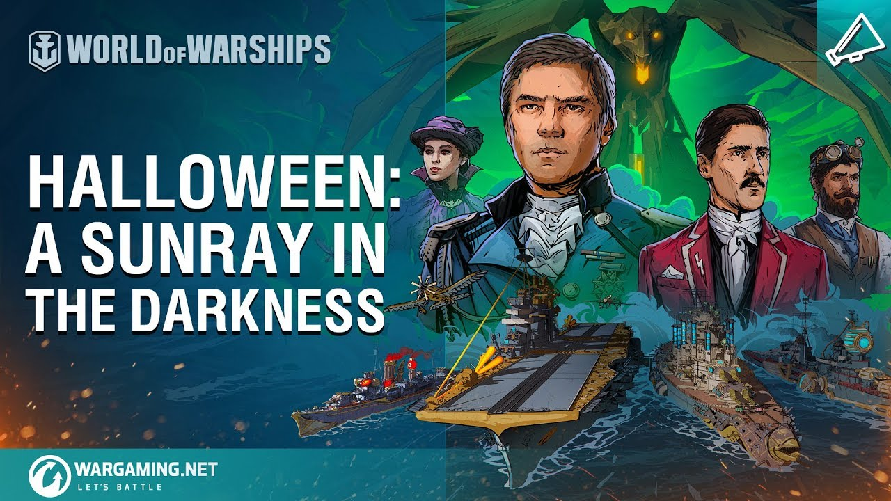 World of Warships – Halloween: A Sunray in the Darkness