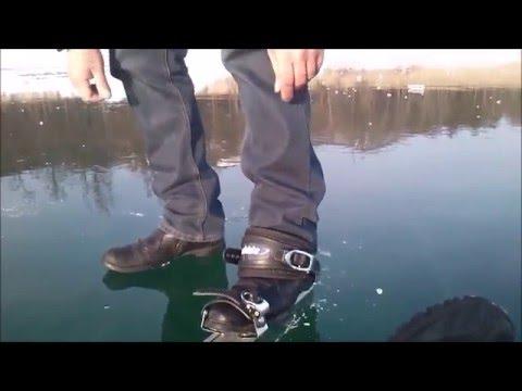 Байкал 2015. Ледовое Зеркало / BAIKAL 2015 Ice-Mirror-Walkers / Isvidda Trekking testing