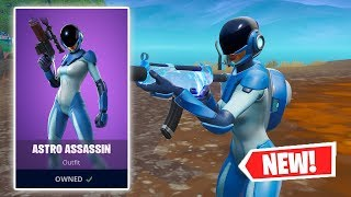 NEW ASTRO ASSASSIN Skin Gameplay in Fortnite!