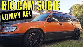 Subaru Big Cams Idle - LUMPY AS FUCK - 600hp Cosworth EJ257