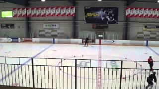 Hockey Passing Drill- Practice Series by The Hill Academy