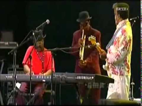 Ike Turner Music Performance...in France at the Blues/Jazz Festival
