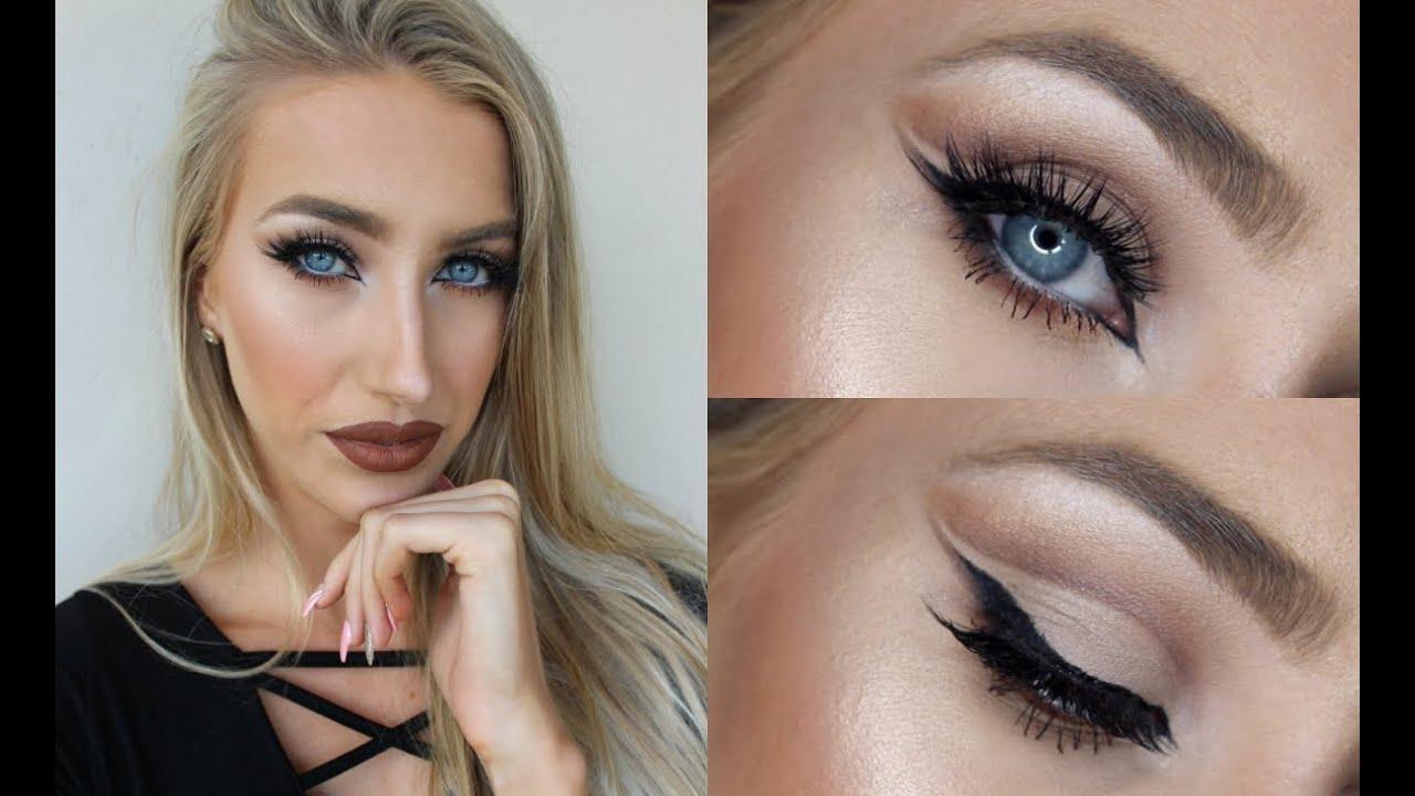 Cut Crease Makeup Tutorial ♡ How 2 get Bigger Almond Shaped Eyes ...