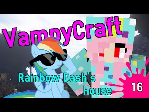 Rainbow Dash's House VampyCraft Episode 16