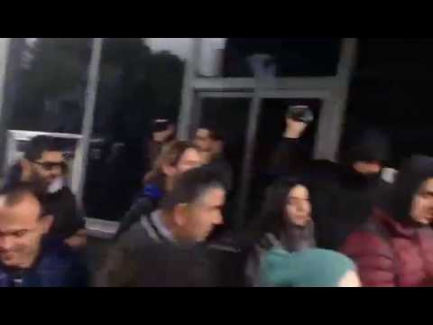 Marmara Üniversitesi'nde ülkücü faşistler saldırdı, üniversiteliler üniversiteyi bırakmadı