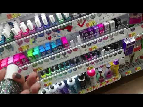 SouthernASMR Sounds 💅 Nail Polish Organizing in Walmart 💅