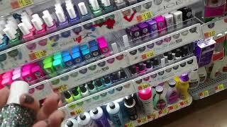 SouthernASMR Sounds 💅 Nail Polish Organizing in Walmart 💅