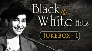 Evergreen Black & White Superhit Song Collection (HD)  - Jukebox 1 - Bollywood Old Classics