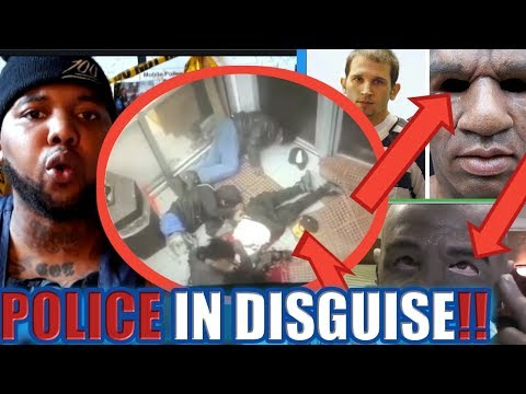 """**VIDEO EVIDENCE** EX-Military group wearing """"BLACK SKIN"""" in CHICAGO!!!